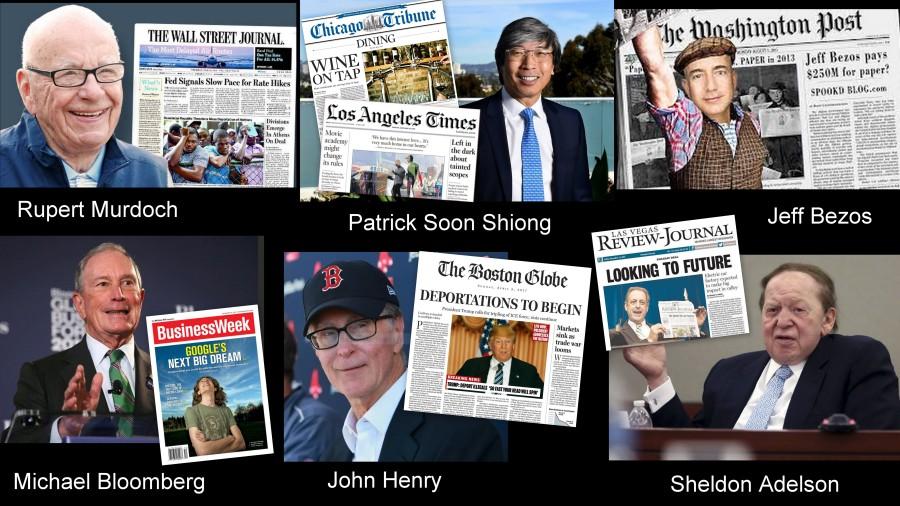 Newspaper Billionaires Montage 1
