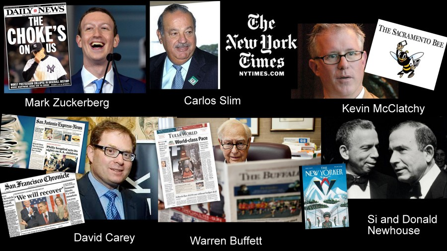Newspaper billionaires Montage 2